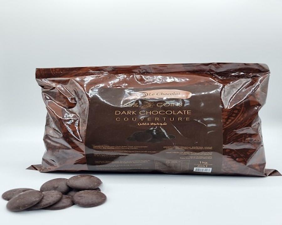 Le Chocolat Dark Chocolate (55%) 1 KG