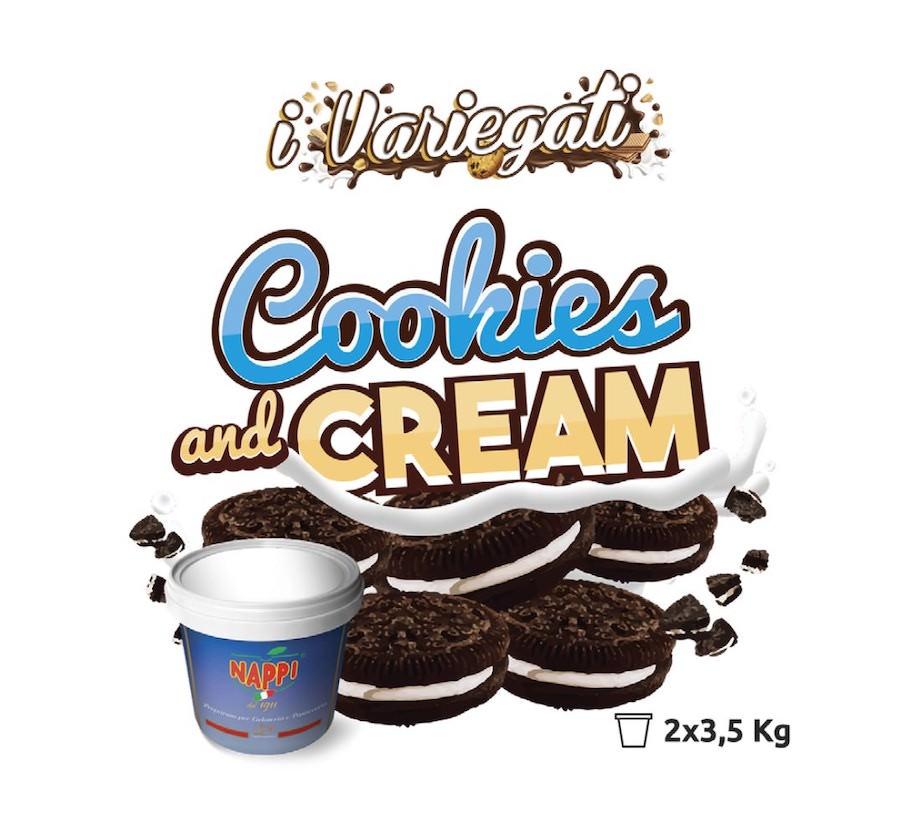 Cookies & Creme Cream (Hershey) 3.5 KG