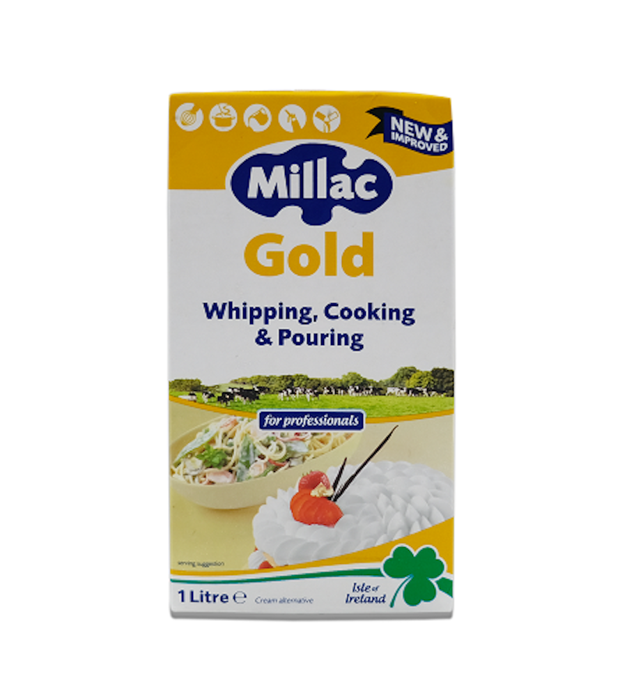 Milac Gold Whipping, Cooking & Pouring Cream 1L