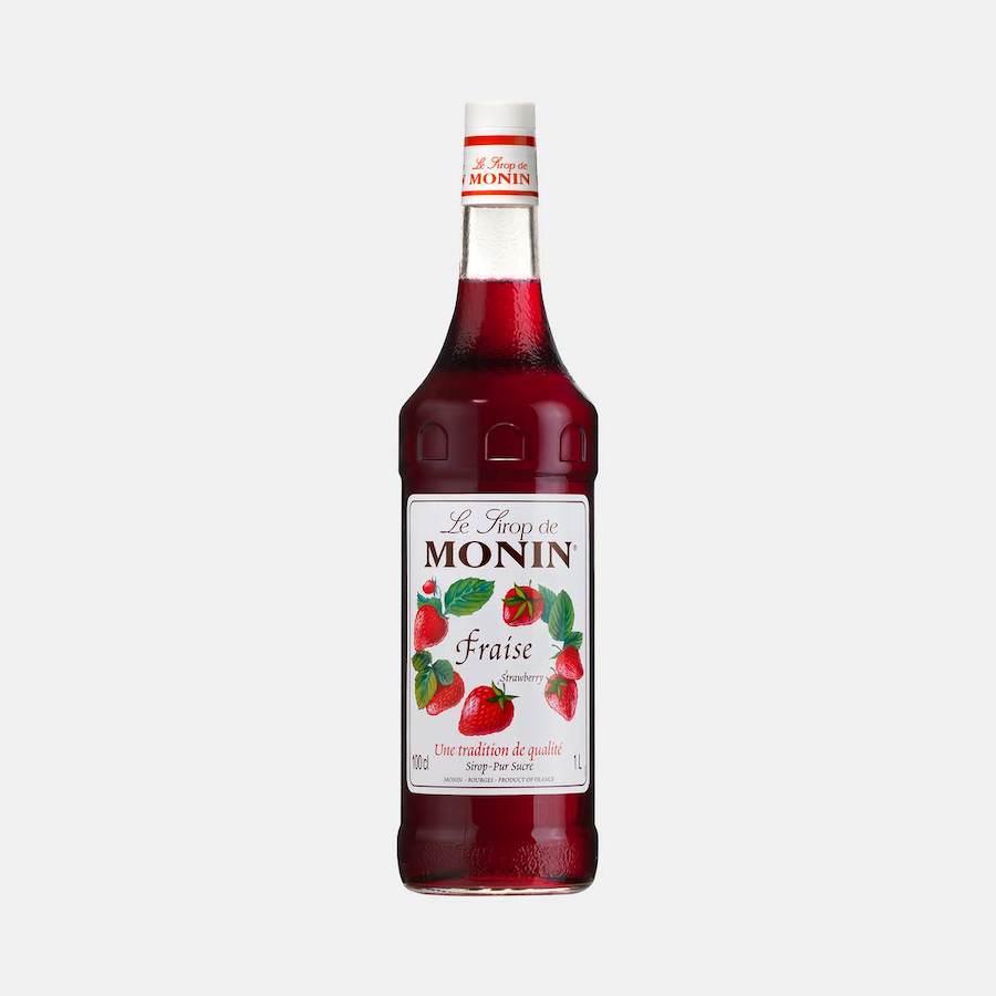 Monin Strawberry Syrup 1L