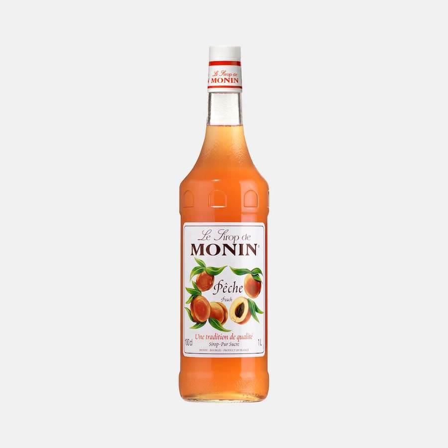 Monin Peach Syrup 1L