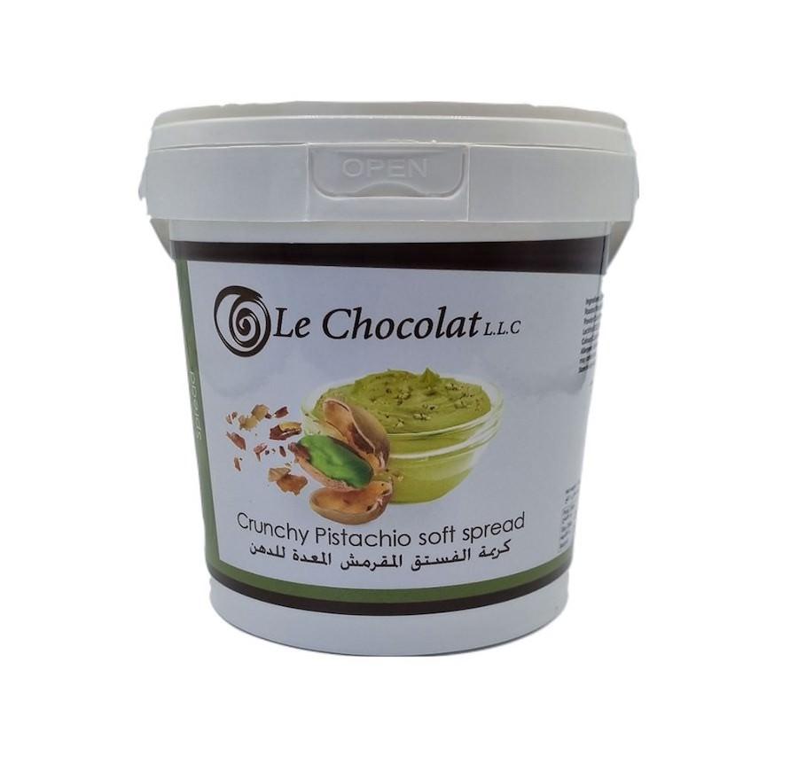 Le Chocolat Crunchy Pistachio Cream 1KG