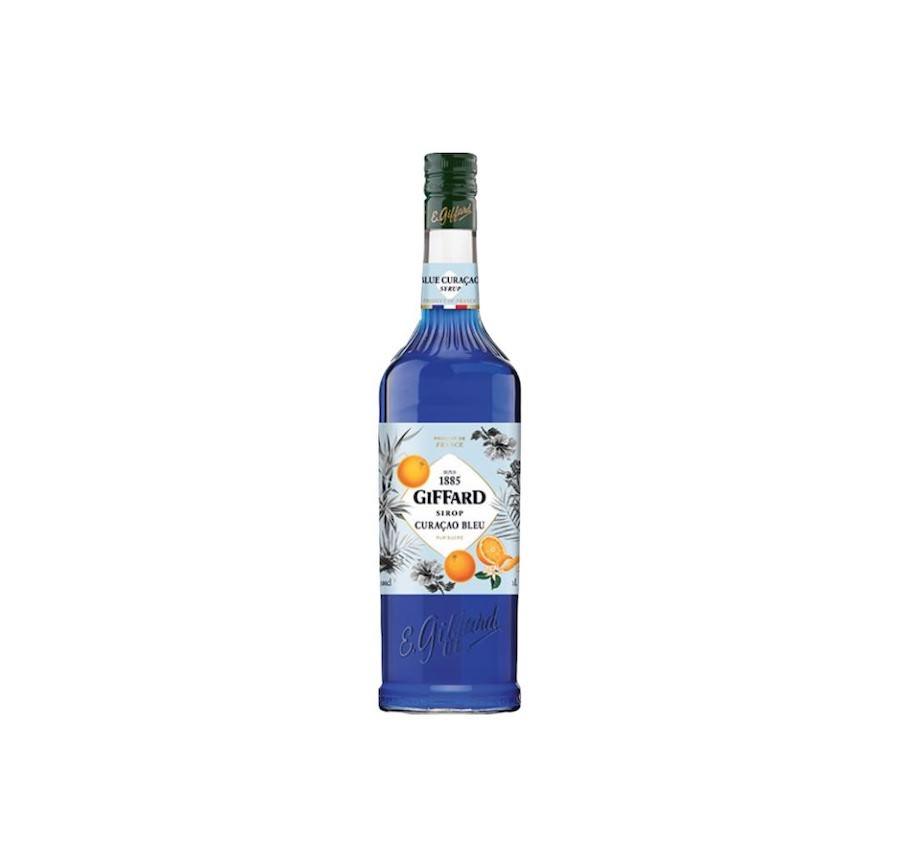 Giffard Blue Curacao Syrup 1L