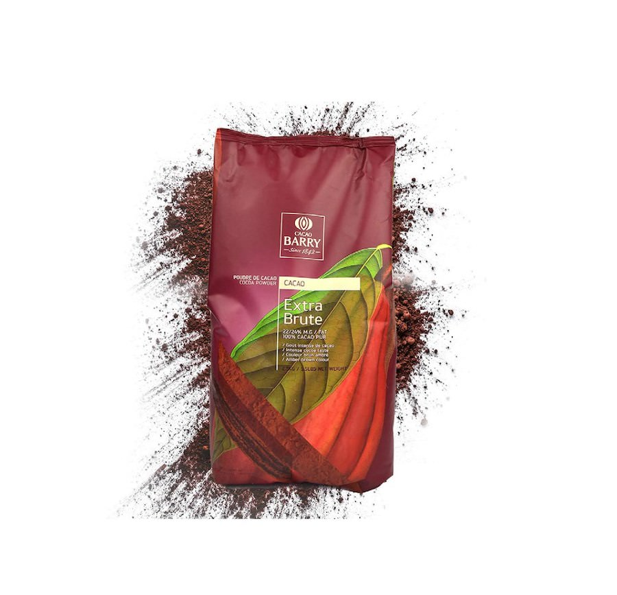 Cacao Barry - Extra Brute Amber Cocoa Powder 2.5kg