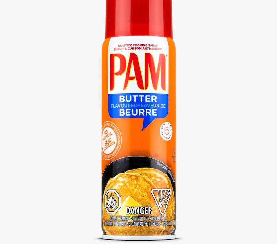 PAM Butter Flavoured Spray oil 141grams