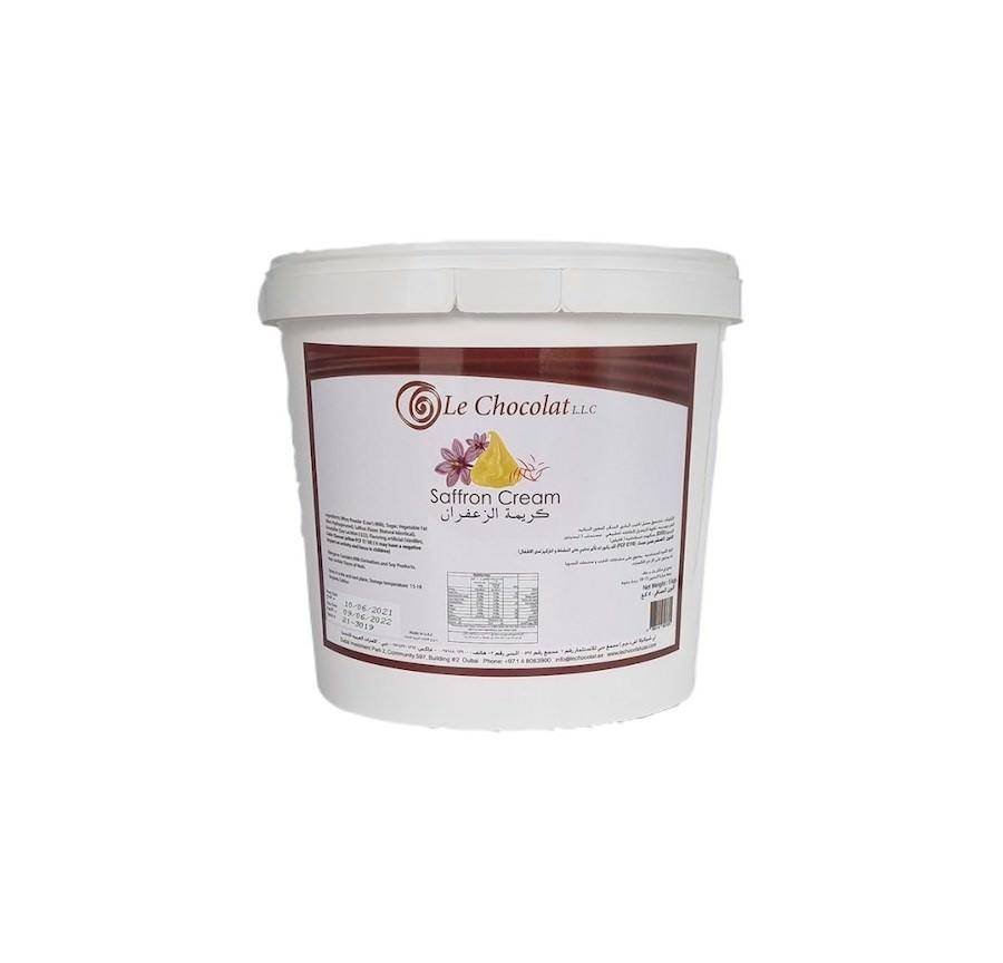Le Chocolat Saffron Cream 5KG