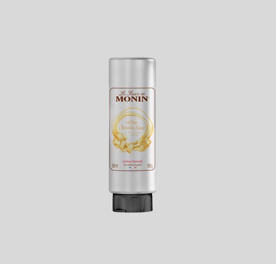 Monin White Chocolate Sauce 500G