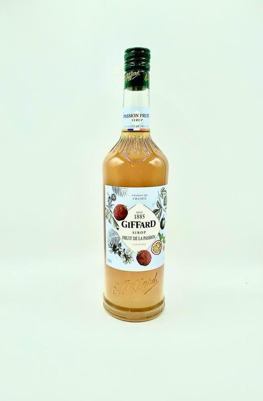 Giffard Passion Fruit Syrup 1L