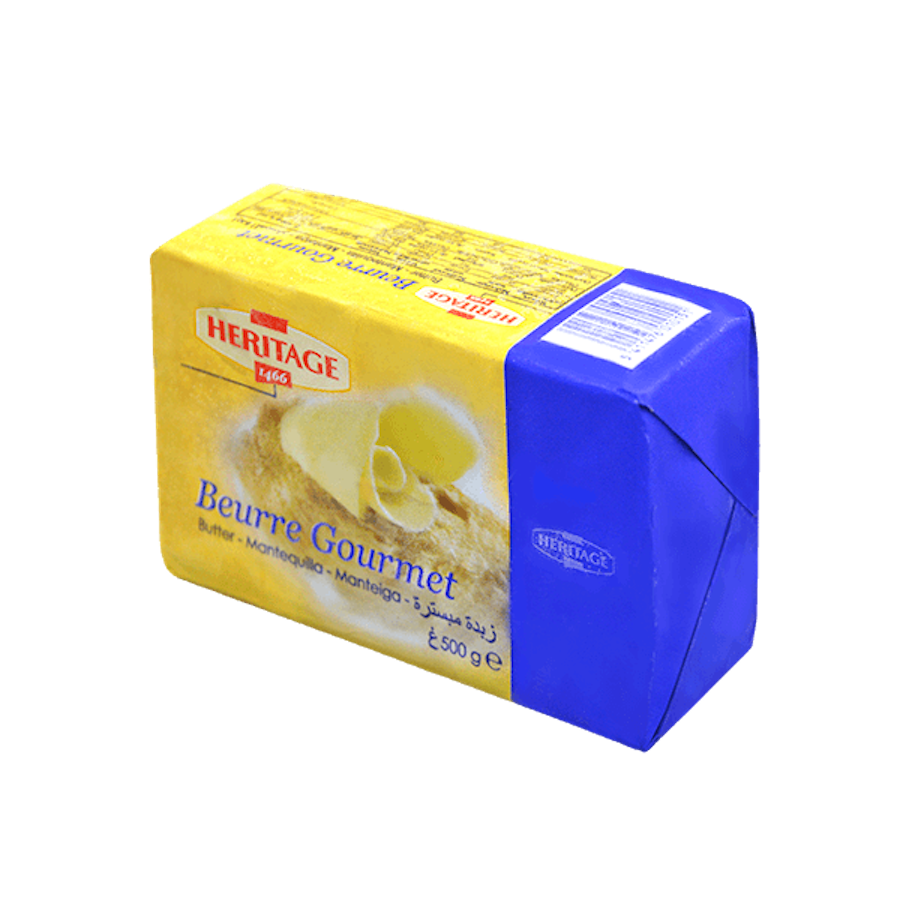 Heritage Unsalted Butter 500g.