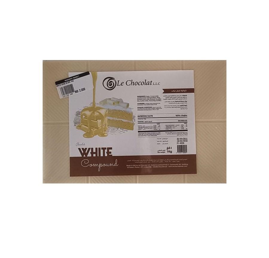 White Chocolate Compound 1KG